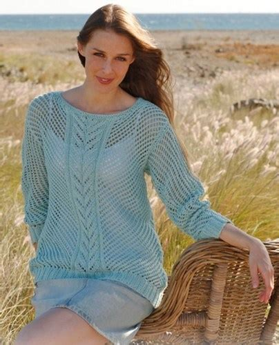 knit pattern summer sweater hand knit summer sweater lace pattern made to order