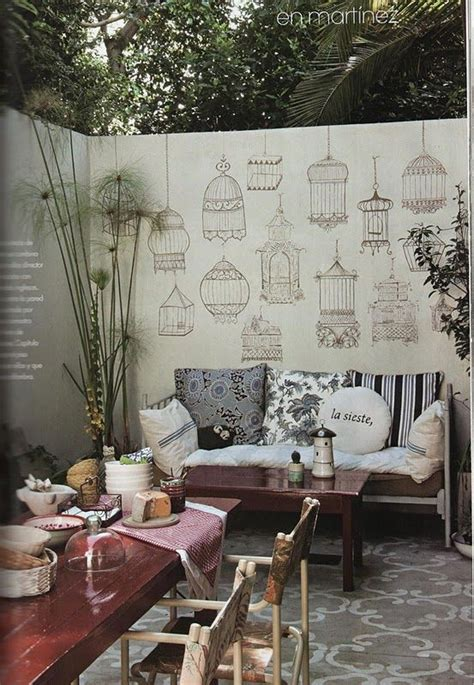 patio bird cages best 25 patio wall ideas on privacy wall
