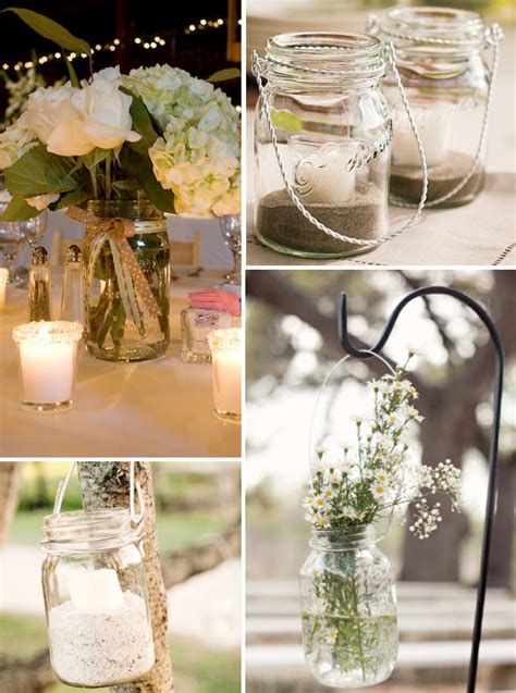 mason jar ideas for fall wedding decorationswedwebtalks wedwebtalks