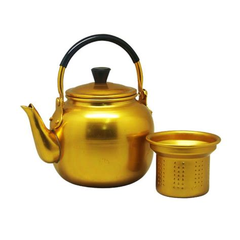 Maspion Teko Fancy Aluminium 14cm yellow fancy kettle logam jawa maspion