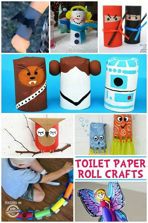 Tissue Paper Roll Crafts - 132 best images about craft ideas i like on