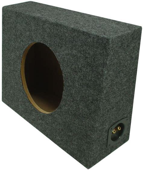 Box Subwoofer 10 Inch car audio sealed 10 inch regular cab truck 3 4 quot mdf subwoofer enclosure sub box ebay