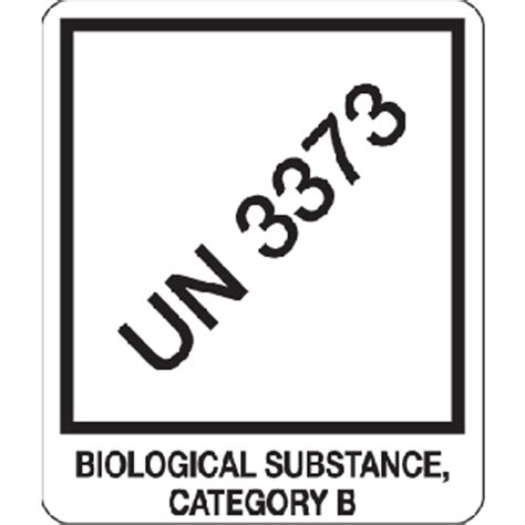 printable un3373 label un 3373 biological substance category b 4 quot x 4 75