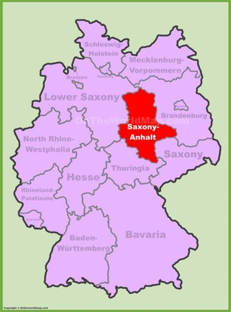 saxony germany map saxony anhalt maps germany maps of saxony anhalt
