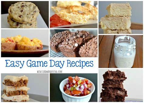 easy day recipes easy day recipes winstead wandering