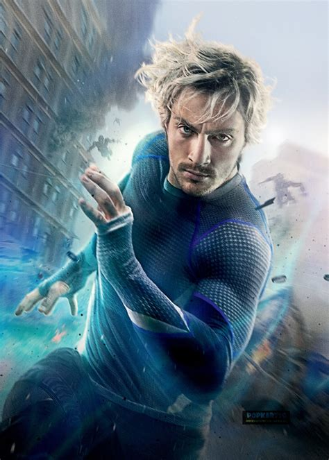 age of ultron character poster quicksilver via