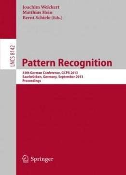 pattern recognition lecture notes in computer science pattern recognition 35th german conference gcpr 2013