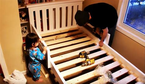 diy  bed frame howtospecialist   build step