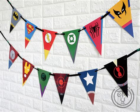 Bunting Flag Happy Birthday Banner Hbd Karakter Superman compare prices on superman baby shower decorations shopping buy low price superman baby