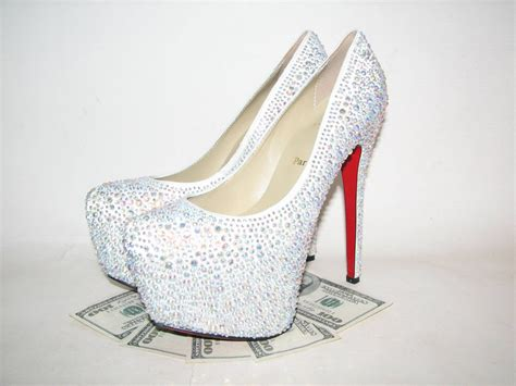 Rp 210000 New Arrival Louis Vuitton High Heel Shoes 9320 5 Siz rhinestone christian louboutin shoes shoes with spikes for