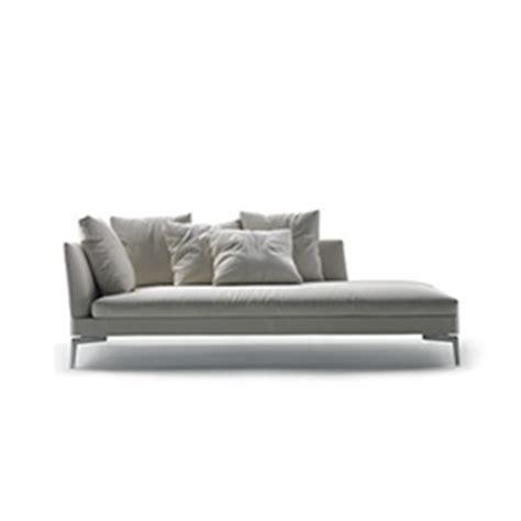 Vintage Look Sofa Chaise Longue Dormeuse Flexform
