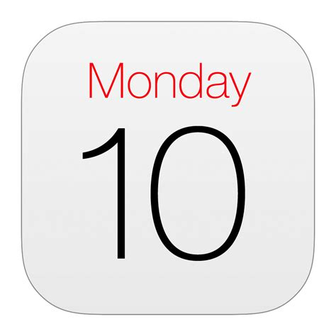 Calendar Iphone App Apple Calendar Icon 31 Www Imgkid The Image Kid