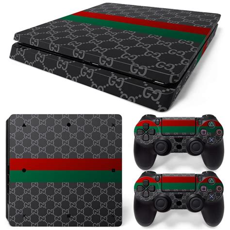 Ps4 Aufkleber Gold by Gucci Slim Ps4skin Net