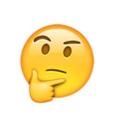 emoji thinking emoji pensando pensandoemoji twitter