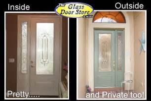 Single front door with glass insert partial size the glass door