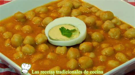 recetas de cocina catalana receta de garbanzos a la catalana recetas de cocina con