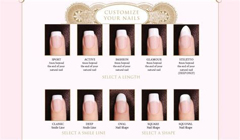 most popular nail length and shape beauty product review custom nail solutions