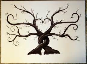 thumbprint tree trees and family trees on pinterest