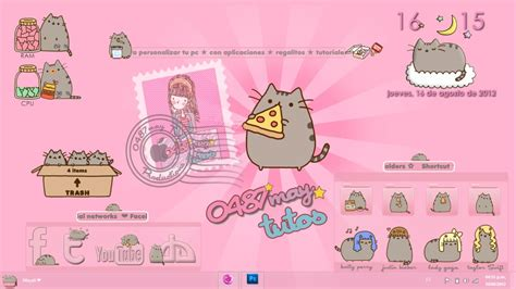 Cat Wallpaper Iphone All Hp pusheen cat theme for xwidget by may0487 on deviantart
