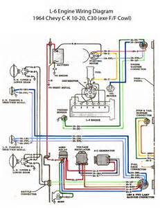 electric l 6 engine wiring diagram chevy 6 engine chevy and chevy c10