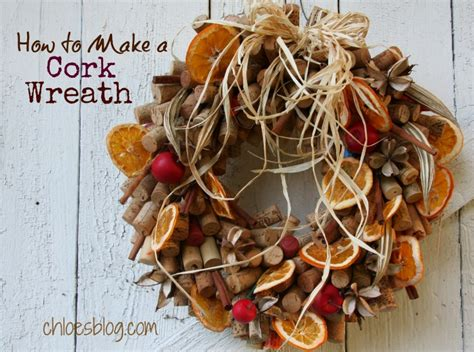 how to make a wine cork holiday wreath apps directories