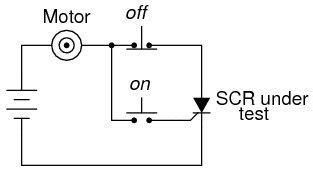 how to test shockley diode scr silicon controlled rectifie all