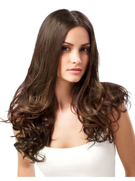 Medium Chocolate Brown Hair Extensions Remy Indian Hair Medium Brown Clip In Hair Extensions 100 Indian Remy Hair