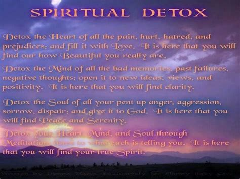 Detox Your Soul by Cleanse Your Soul Quotes Just B Cause