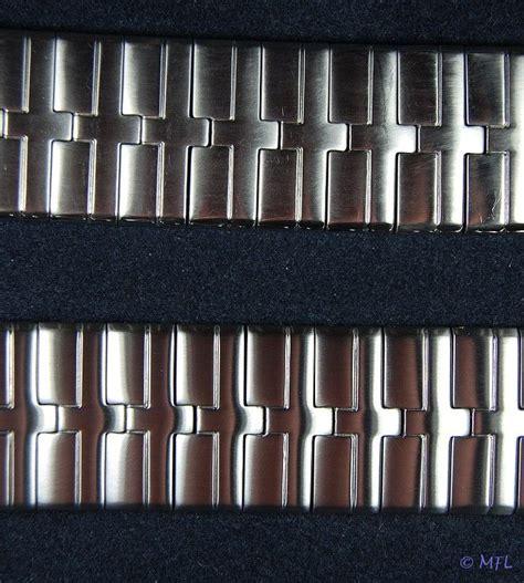 Edelstahl Hochglanz Polieren Methode by Kratzer Am Edelstahlarmband Polieren Uhrforum