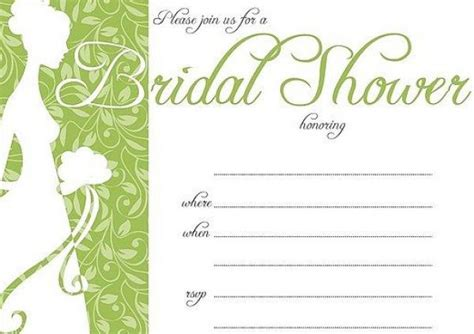 wedding shower invitations print at home bridal shower invitations free print at home bridal