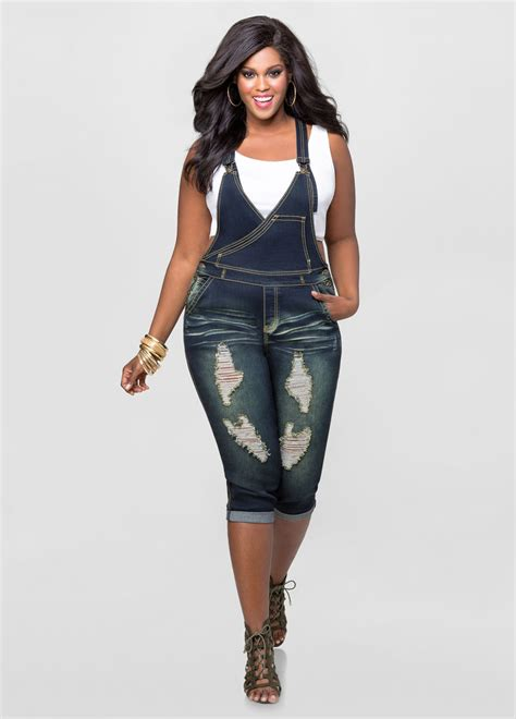 jean jumper destructed jean jumper plus size denim