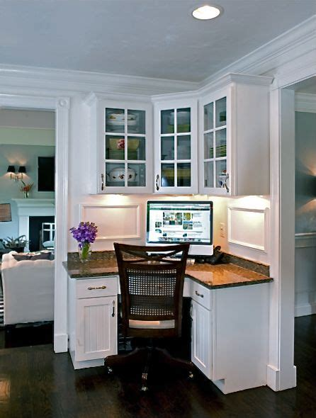 Computer Desk In Dining Room 25 Best Ideas About Dining Room Office On Table Desk Office Built Ins And Office Den