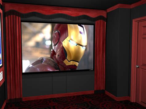 home theater drapes standard home theater curtains