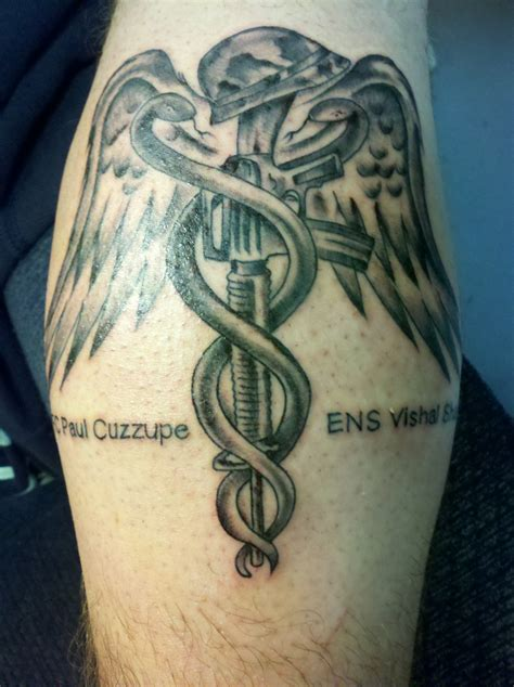 combat medic tattoo army memorial picture