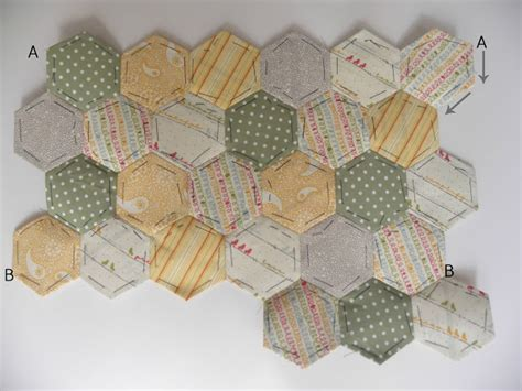 Hexagon Shapes For Patchwork - becca lou creates hexagon patchwork mini tutorial