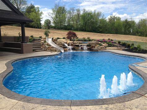 Gunite Pool Designs Mid American Gunite Pools Gunite Swimming Pool Designs