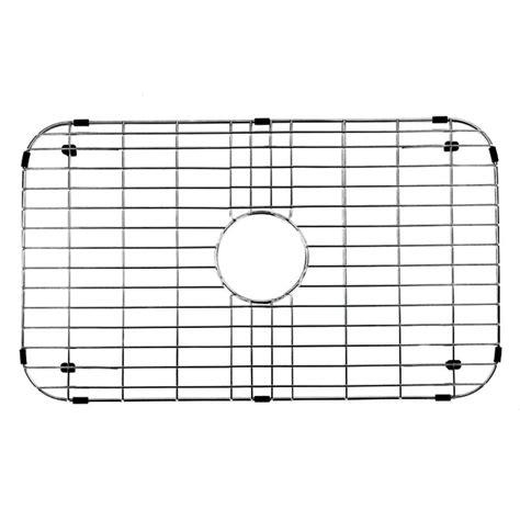 kitchen sink bottom grid vigo 26 in x 14 375 in kitchen sink bottom grid vgg2514