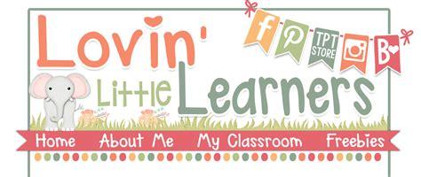 lovin little learners freebies
