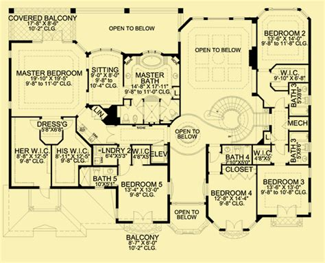 waddesdon manor floor plan coastal house plans for a 6 or 7 bedroom mediterranean home