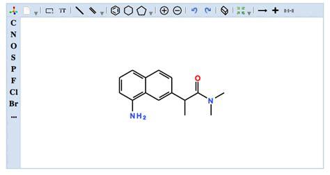 Chem Structure Drawer chemene jsdraw a javascript chemical structure editor