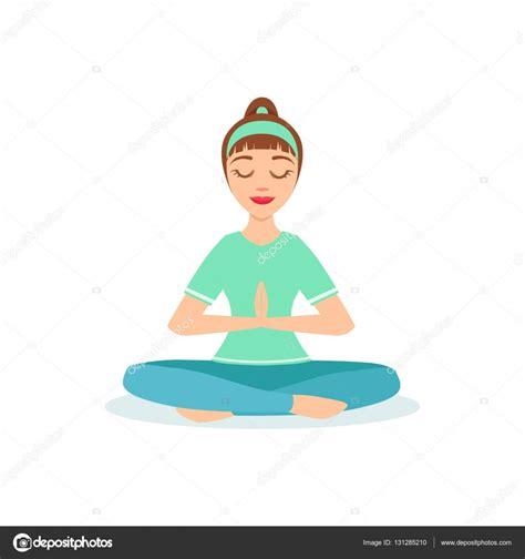 imagenes yoga dibujos lotus con orar manos yoga padmasana postura demostrada por