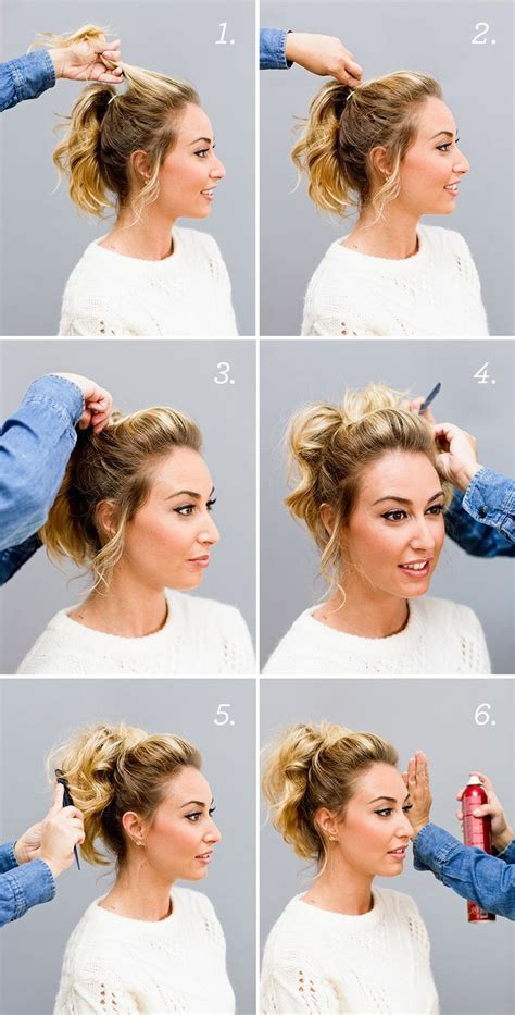 how to do a cheer puffy ponytail hairstyle 25 best ideas about short ponytail hairstyles on