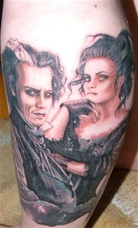 sweeney todd tattoo tattoos pop culture on harry potter tattoos