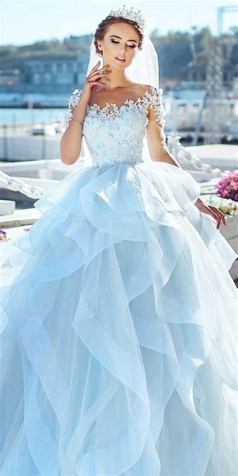 a blue wedding dress the 25 best blue wedding dresses ideas on pinterest