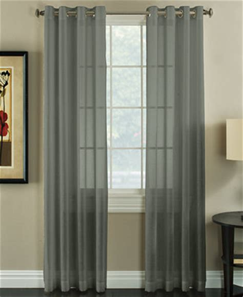 miller curtain miller curtains robin 50 quot x 84 quot textured sheer curtain