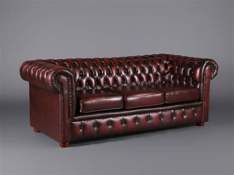 Oxblood Chesterfield by Three Seater Leather Chesterfield Oxblood Sofas