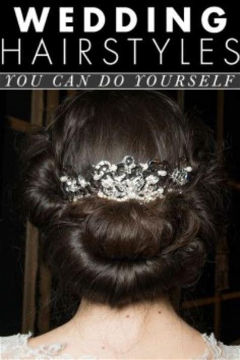 bridal hairstyles you can do yourself wedding hair ideas you can do yourself