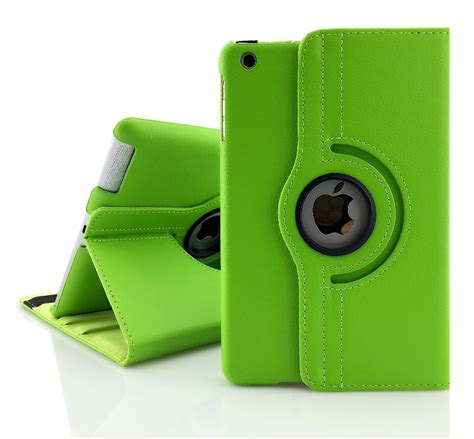 Smart Cover 234 Casing Leather free shipping 360 pu leather rotating smart cover stand for apple 234 a1460 a1459