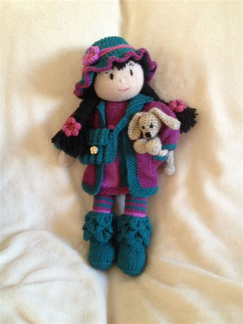 knitted doll 64 best images about knit and crochet dolls and toys on
