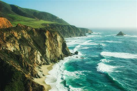 Down The Pch - down the pacific coast highway photograph by photography by sai